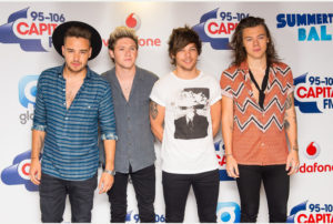 File photo dated 06/06/15 of (left to right) Liam Payne, Niall Horan, Louis Tomlinson and Harry Styles of One Direction, who confirmed their status as one of the biggest Ð and most lucrative Ð groups in the world, as it was revealed they earned £6.15 million a month in 2014. PRESS ASSOCIATION Photo. Issue date: Friday October 16, 2015. Their company, 1d Media Limited, achieved a turnover of £73.7 million last year according to their annual financial statement. That is £6.15 million a month or £202,014 a day. See PA story SHOWBIZ OneDirection. Photo credit should read: Dominic Lipinski/PA Wire