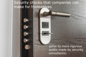 Security Checks Companies can make for themselves
